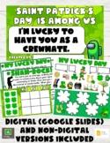 Saint Patrick's Day Activity Set +Game (Digital & Non-Digi
