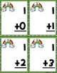 Saint Patrick's Day Addition Flashcards