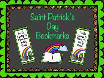 Saint Patrick's Day Bookmarks