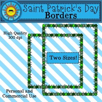 Saint Patrick's Day Borders