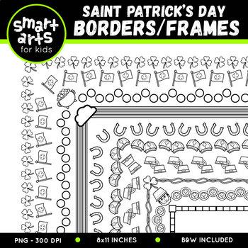 Saint Patrick's Day Borders/Frames Clip Art