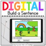 Saint Patrick's Day Build a Sentence Digital Activity | Di
