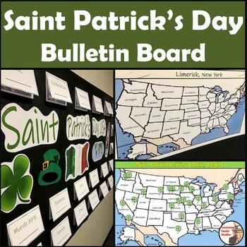 Saint Patrick's Day Bulletin Board