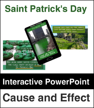 Saint Patrick's Day Cause and Effect PowerPoint Review