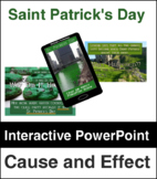 Cause and Effect Saint Patrick's Day Review NO PREP