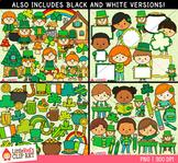 Saint Patrick's Day Clip Art Bundle
