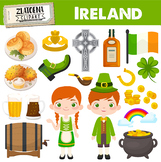 Ireland clipart Irish Celebrate Festival Holiday