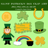 Saint Patrick's Day Clip Art - Set of 8