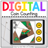 Saint Patrick's Day Coin Counting Digital Activity | Dista
