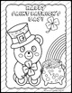 Saint Patrick's Day Coloring Printable Worksheets Ready to