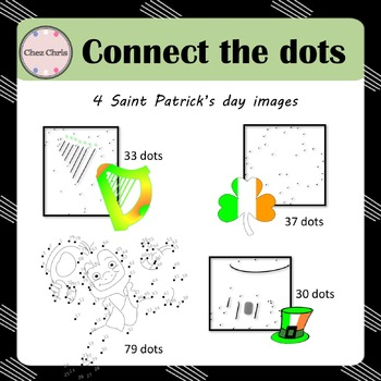 Saint Patrick's Day: Connect the dots