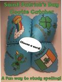 Saint Patrick's Day Cootie Catcher, Leprechaun Puppet, Story Web & Mini Book