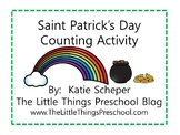 Saint Patrick's Day Counting Activity - Count to Ten