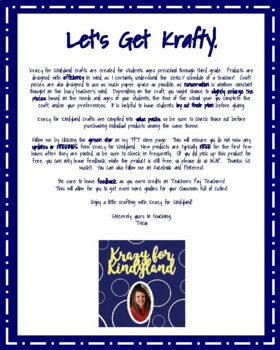 Saint Patrick's Day Craft and Writing: I'm Lucky