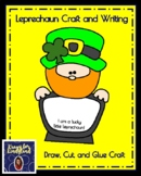 Saint Patrick's Day Craft and Writing for Kindergarten: Lucky Little Leprechaun