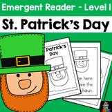Saint Patrick's Day Emergent Reader