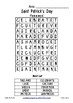 Saint Patrick's Day ~ Find-a-word ~ Word Search