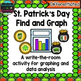 Saint Patrick's Day Find and Graph: A Differentiated Math Center