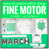 Saint Patrick's Day Fine Motor Skills and Activities