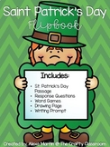 Saint Patrick's Day Flip Book Activity