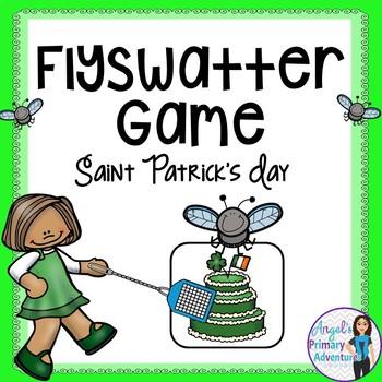 Saint Patrick's Day Flyswatter Vocabulary Game