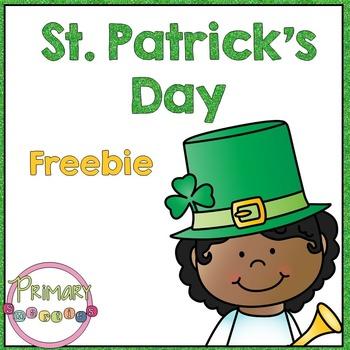 Saint Patrick's Day Freebie