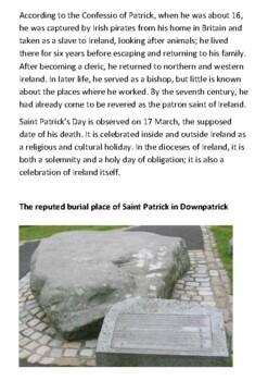 Saint Patrick's Day Handout
