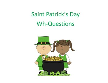 Saint Patrick's Day How Many, Who, and Where Questions