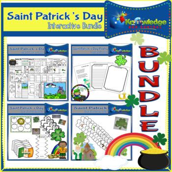 Saint Patrick's Day Interactive BUNDLE