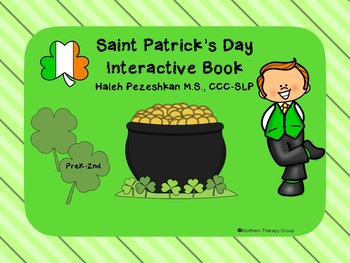 Saint Patrick's Day Interactive Book