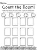 Saint Patrick's Day Math Center-- Count the Room