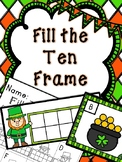 Saint Patrick's Day Math Center-- Fill the Ten Frame