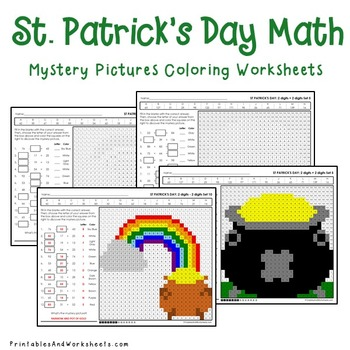 St. Patrick's Day Math Activities - With St. Patrick's Day Math Worksheets