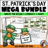 Saint Patrick's Day Math, Literacy & Write the Room Bundle