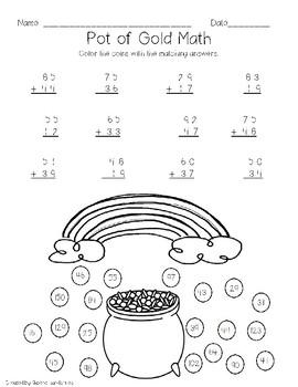 Bilingual St. Patrick's Day Math (Eng/Span)