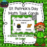 Saint Patrick's Day Math Task Cards