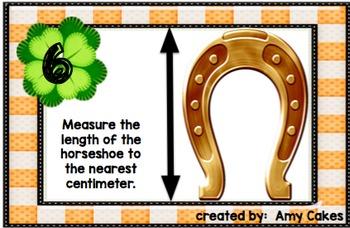 Saint Patrick's Day Measurement Scoot