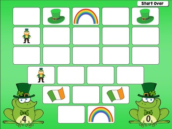 Saint Patrick's Day Game for PC and Smartboard Fun