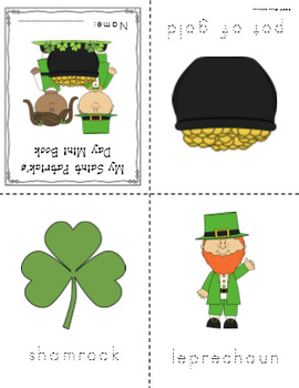 Saint Patrick's Day Mini Book