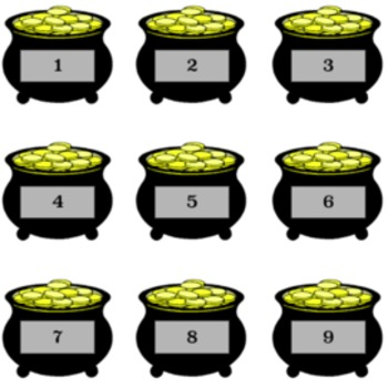 Saint Patrick's Day Multiplication Fluency