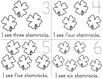 Saint Patrick's Day Centers Activities Math Centers St. Pat's Preschool, K