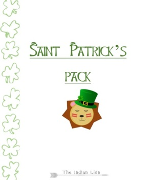 Saint Patrick's Day Pack for young ESL