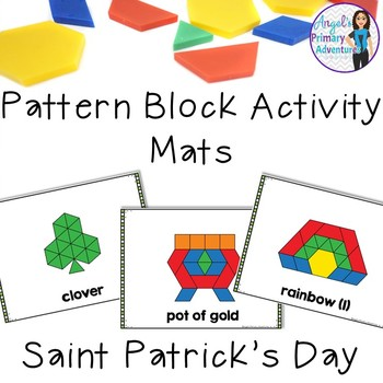 Saint Patrick's Day Pattern Block Mats