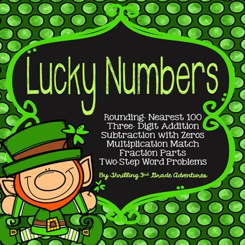Saint Patrick's Day Print and Go Math
