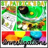 Saint Patrick's Day Science - St. Patrick's Day Investigations- Exploration-STEM