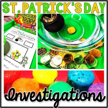 Saint Patrick's Day Science - St. Patrick's Day Investigat