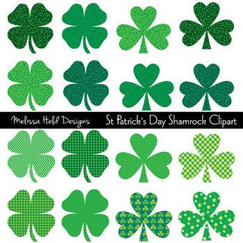 Clipart: Saint Patrick's Day Shamrock Clip Art