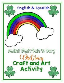 Saint Patrick's Day Shamrock Craft*Pop Art*Rainbow Craft Activities