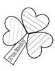 Saint Patrick's Day Shamrock Craft*Pop Art*Rainbow Craft A