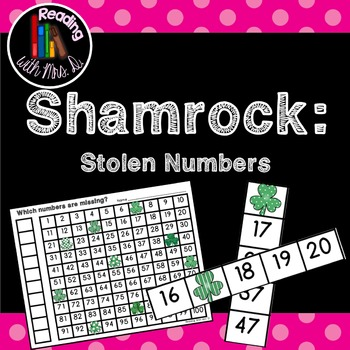 Saint Patrick's Day Shamrock Missing Stolen Numbers